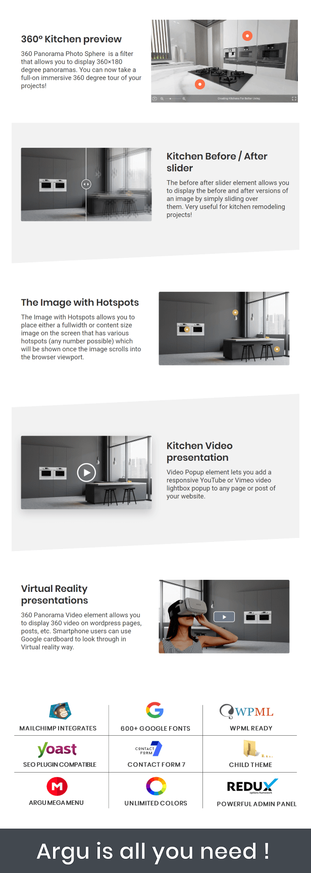 Kitchen web template